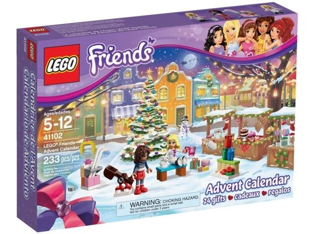 LEGO 41102 Adventskalender 2015, Friends prijzen vergelijken. Klik voor vergroting.