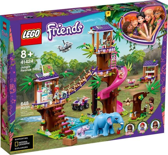 41424 Lego Friends Jungle Reddingsbrigade prijzen vergelijken. Klik voor vergroting.