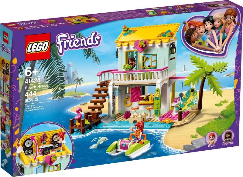 41428 Lego Friends Strandhuis prijzen vergelijken. Klik voor vergroting.