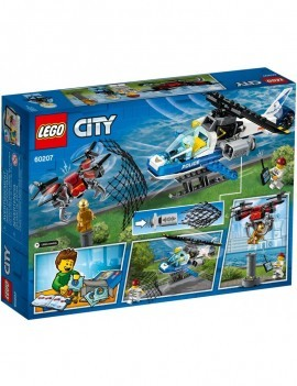 Brand New And Boxed LEGO CITY 60207 Sky Police Drone Chase