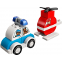 LEGO 10957 Fire Helicopter & Police Car