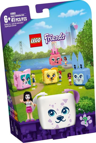 41663 Lego Friends Emma's Dalmatian Cube prijzen vergelijken. Klik voor vergroting.