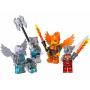 LEGO 850913 Vuur en ijs minifiguren accessioreset